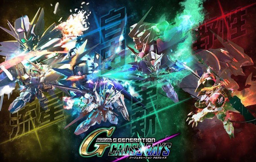 Nuevo paquete de expansión de SD Gundam G Generation Cross Rays