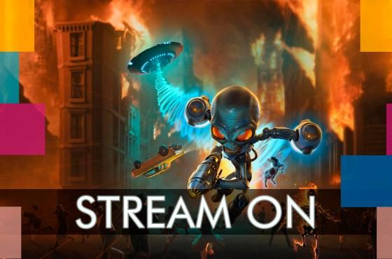 Stream Diario: Destroy All Humans