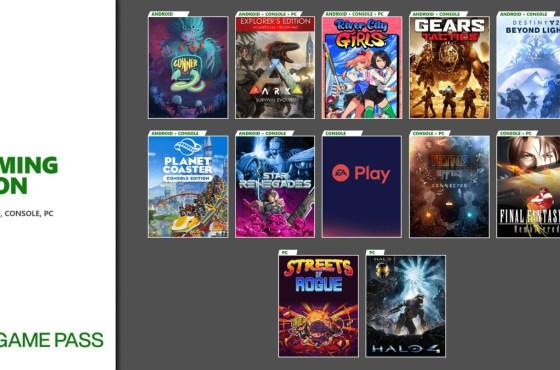 Próximamente en Xbox Game Pass: EA Play, Destiny 2: Beyond Light y más