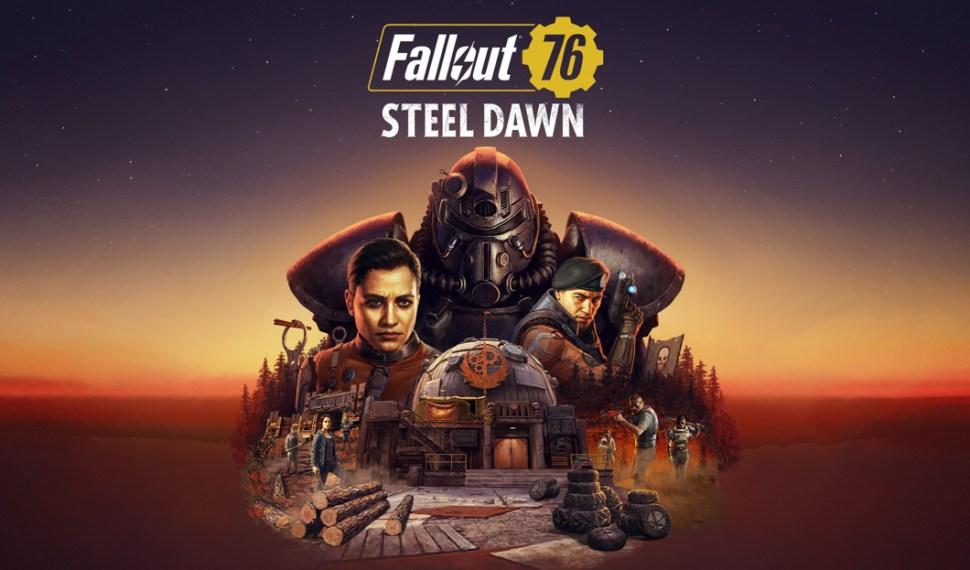 Fallout 76 recibe la actualización Steel Dawn en diciembre