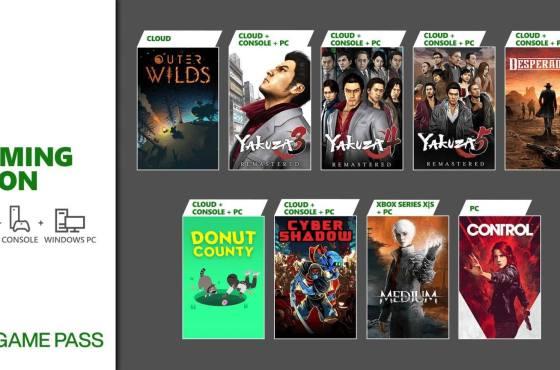 Gamepass se actualiza con al menos dos títulos que tenes que jugar