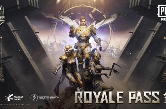 El Royale Pass Temporada 17 de PUBG MOBILE nuevas recompensas
