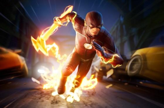 Flash de DC llega a Fortnite