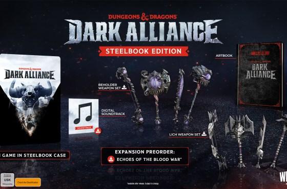 El videojuego de D&D 'Dark Alliance' se lanzará el 22 de junio