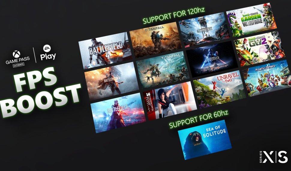 FPS Boost en juegos de EA disponibles con Xbox Game Pass Ultimate