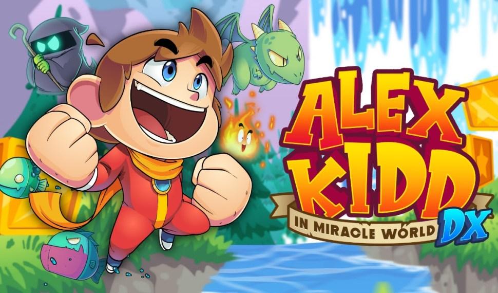 Alex Kidd en Miracle World DX llega a PC y consolas el 24 de junio
