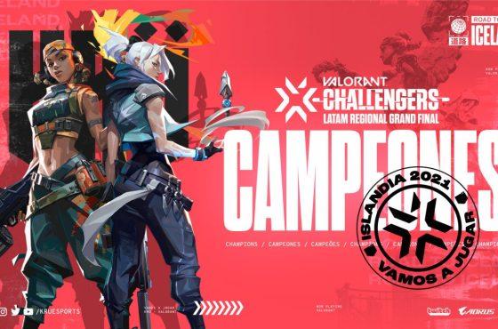 KRÜ Esports es el campeón de Latinoamérica y viaja a Islandia