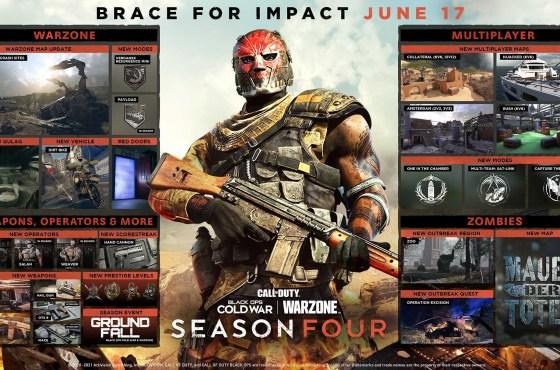 Junio trae la temporada cuatro de COD: Black Ops Cold War y Warzone