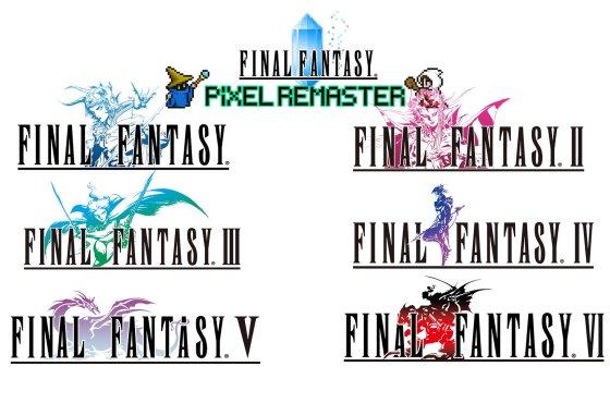 Final Fantasy I, II y III vuelven a nacer el 28 de julio remasterizados en 2D