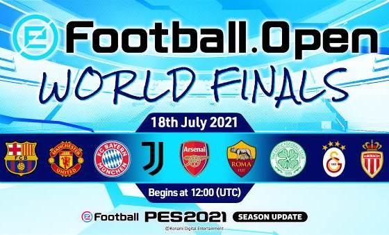 eFootball.Open CELEBRA SU FINAL MUNDIAL ESTE DOMINGO