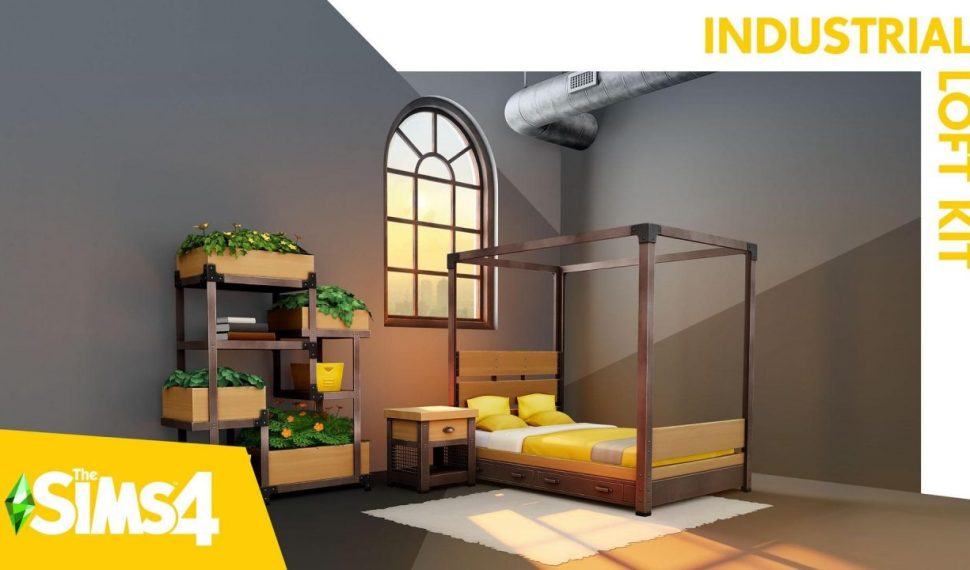 Los Sims 4: Loft Industrial Kit estará disponible el 26 de agosto