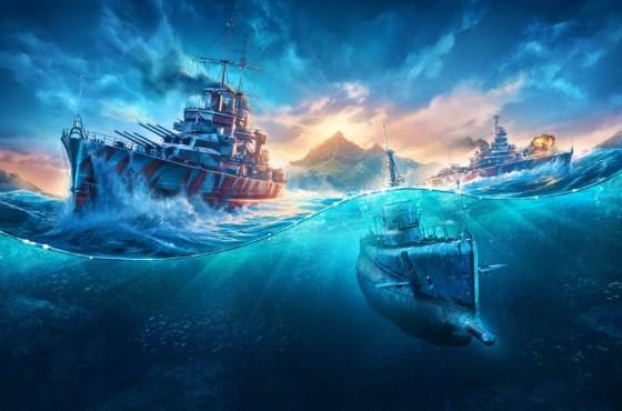 Nuevos y letales submarinos de World of Warships