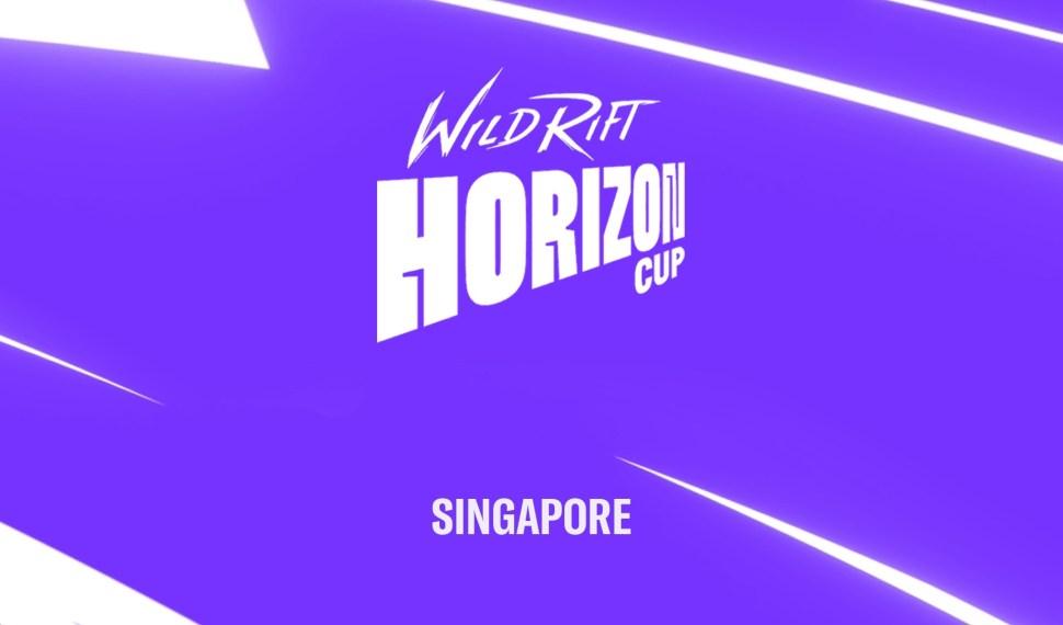 Primer torneo internacional de Wild Rift en Singapur