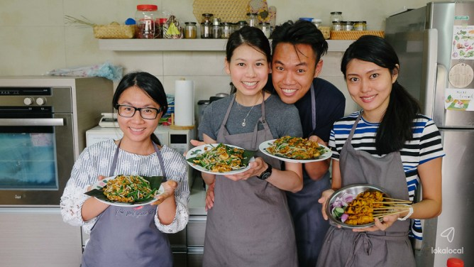 Advocating home-cooking through Malaysian cooking classes