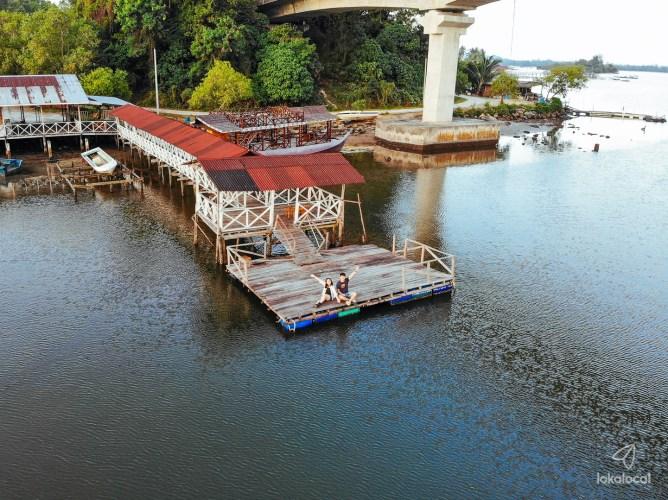 Mengkabong River Bridge: Stunning Sunrise Spot in Tuaran, Sabah - www.lokalocal.com
