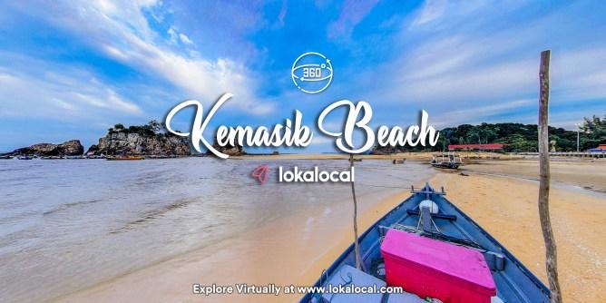 Ultimate Virtual Tours in Malaysia - Kemasik Beach - www.lokalocal.com