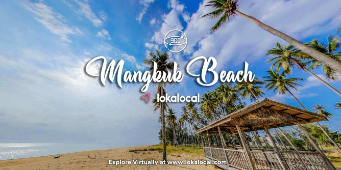 Ultimate Virtual Tours in Malaysia - Mangkuk Beach - www.lokalocal.com