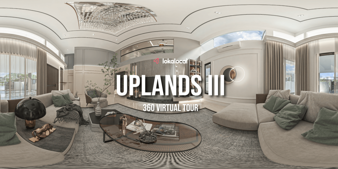 360° Virtual Tour – Uplands III with 3D Render