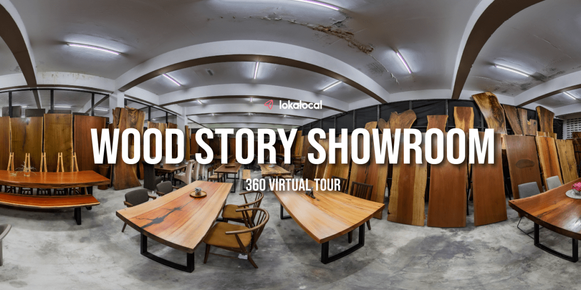 360° Virtual Tour – Wood Story Showroom with E-Commerce