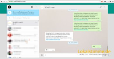 Nun können Sie WhatsApp am PC & Tablet nutzen.