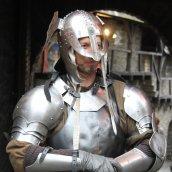 Ritter Gawan darf beim Winterspektakulum natürlich auch nicht fehlen. Foto: pmk