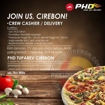 Pizza Hut Delivery (PHD) Cirebon
