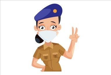 सुरक्षेसह हजारोंच्या आरोग्याचीही रक्षणकर्ती, महिला पोलिसाचे करोना रुग्णांसाठी मोलाचे योगदान