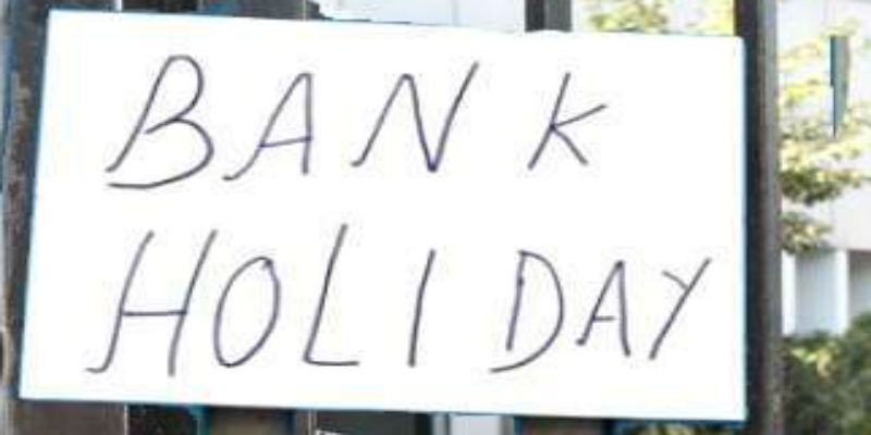 List of bank holidays in 2021