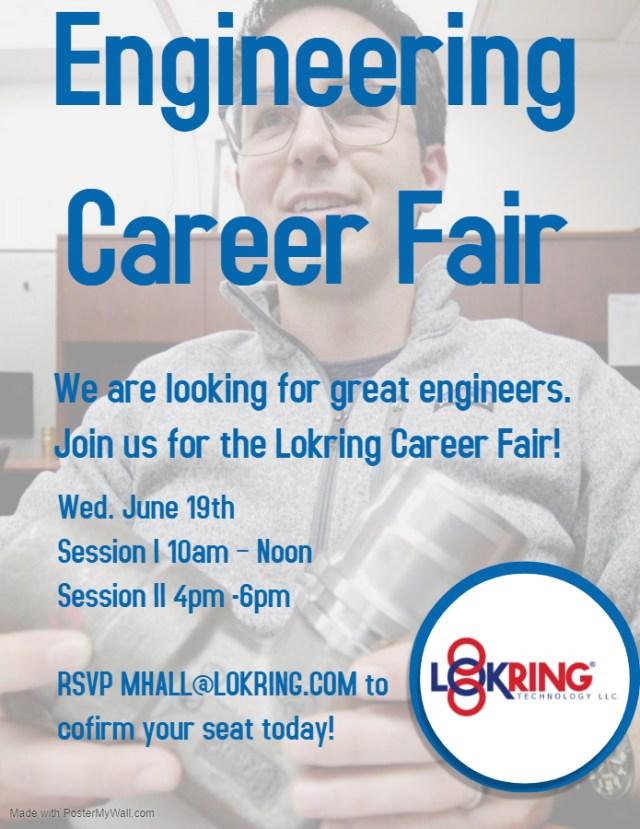 Lokring Engineering Career Fair