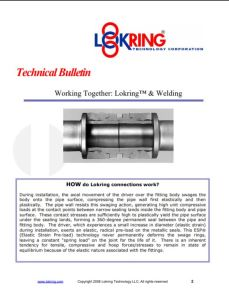 Lokring technical bulletin example