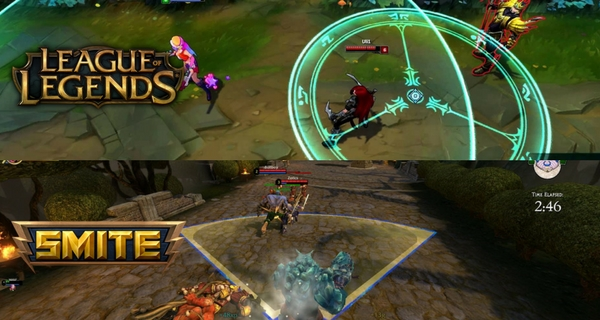 League of Legends Vs Smite  Is Smite Really Better than LoL  gameplay smite lol