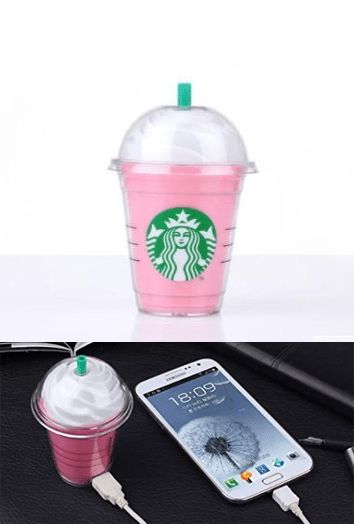STARBUCKS PORTABLE PHONE CHARGER