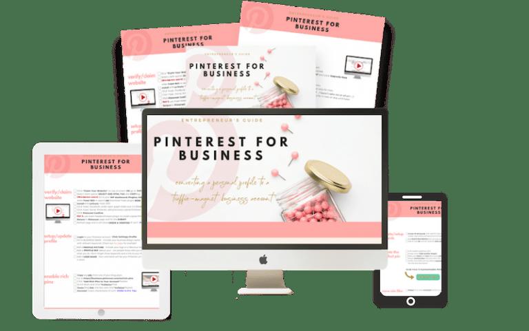 The Entrepreneur's Guide Pinterest for Business - Lola Celeste