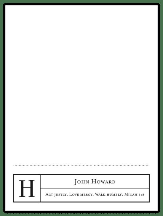 Mr. Footer Notecards - Black