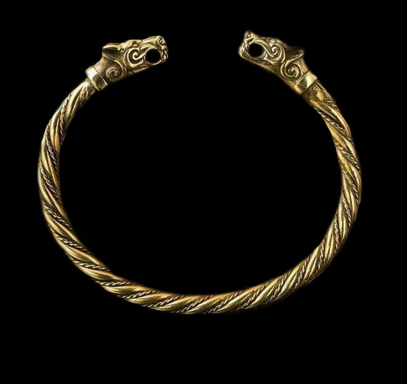 Dragon Torque Bracelet
