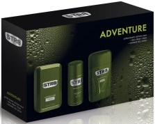 STR8 Adventure After Shave Lotion & Deo & Shower Gel