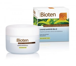 Bioten cremă antirid de zi, ten normal & mixt