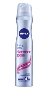 NIVEA Diamond Gloss, spray fixativ