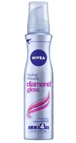 NIVEA Diamond Gloss, spumă