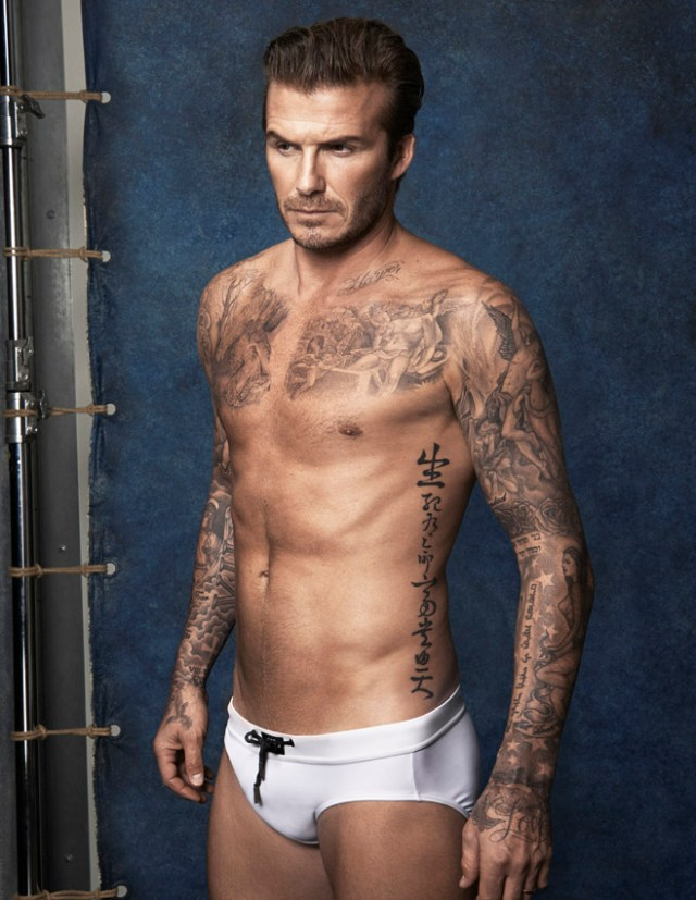 David Beckham by H&M