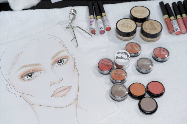 Max Factor Victoria Beckham SS14, Facechart & Products