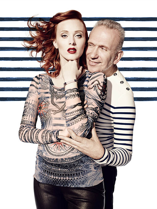 Jean-Paul Gaultier for Lindex Autumn 2014