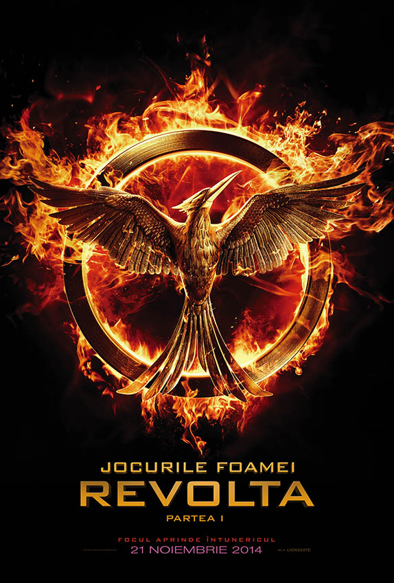 The Hunger Games:Mockingjay - Part 1, poster