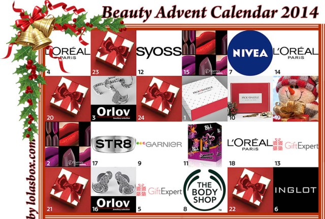 Beauty Advent Calendar, day 18
