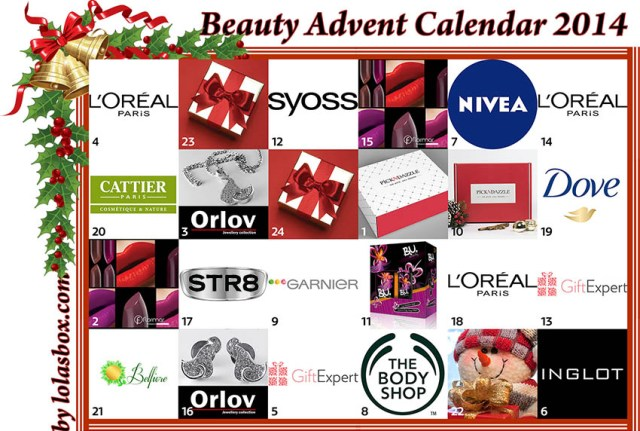 Beauty Advent Calendar, day 21