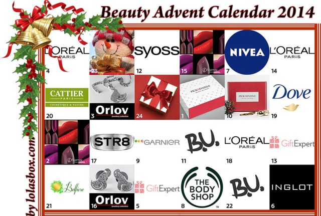 Beauty Advent Calendar, day 22