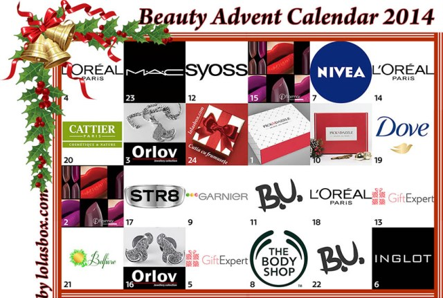 Beauty Advent Calendar, Lola's Box