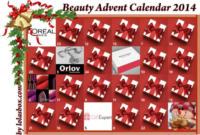 Beauty Christmas Advent, day 5