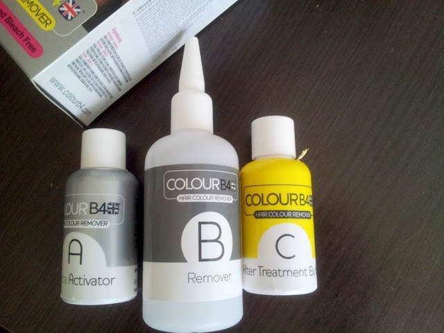 Colour B4, Activator+Remover+Buffer