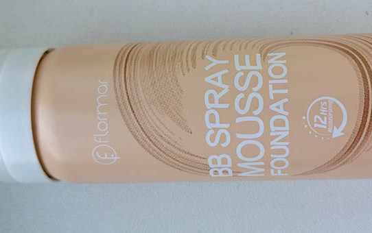 Tried & tested: Flormar BB Spray Mousse Foundation